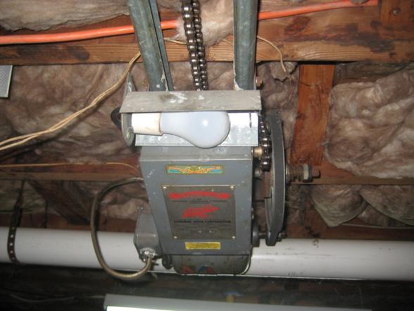 old garage door opener