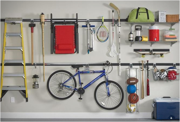 Fall is a great time for garage organization!