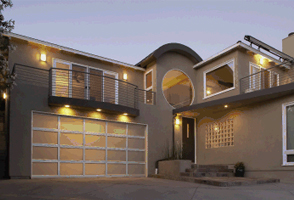 garage door aluminum 521