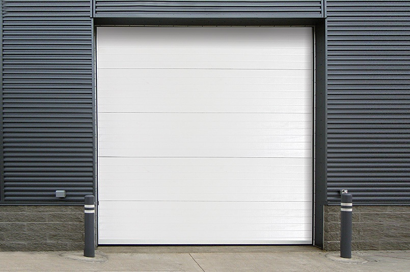 Insulated Sectional Steel Back Door 470