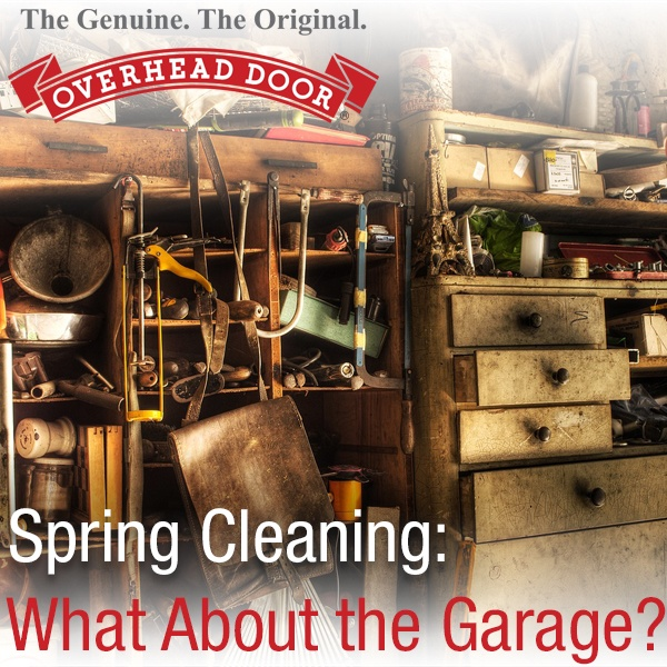 Overhead Door Permian Basin Spring Cleaning the garage