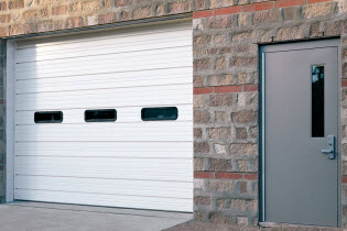 Sectional Steel Door 420 Model