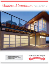 garage door brochure