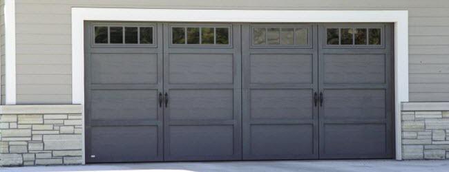 Courtyard Garage Doors