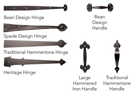 premium garage door hardware