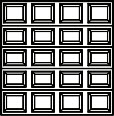 garage door 4x5 squares