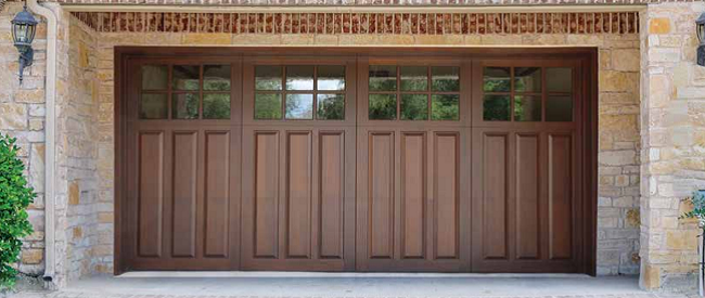 clopay wood panel garage classicwood classic doors natural beautyclassicwood collection